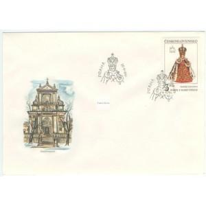 2988-2989 FDC (série) - Pražské a bratislavské motivy