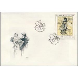0096-98 FDC (série) - Umělecká díla na známkách