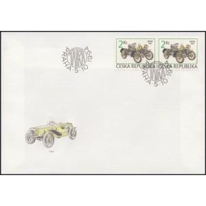 0053-55 FDC (série) - Historické závodní automobily