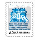 VZ0092 - Vlastní známka: ČESKÁ POJIŠŤOVNA MIZUNO RUNTOUR 2013