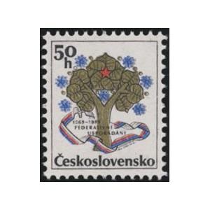 2874 - 20. výročí československé federace