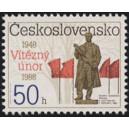 2829 - Pomník Klementa Gottwalda v Pečkách