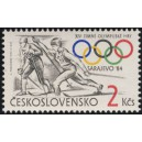 2629 - Sarajevo 1984 - běh na lyžích