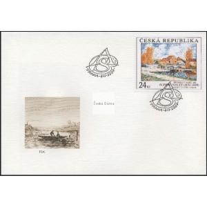 0615-0616 FDC (série) - Umělecká díla na známkách