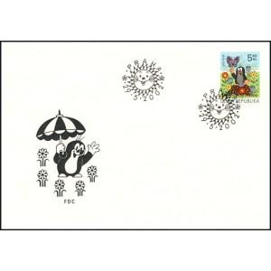 0323 FDC - Dětem - Krteček