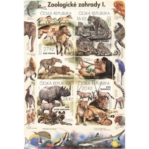 0894-897A (aršík) - Ochrana přírody - Zoologické zahrady I