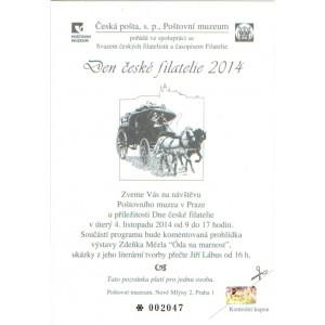 PPM15 - Den české filatelie 2014