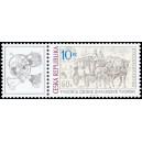 0667 KL - Poštovní dostavník na Karlově mostě
