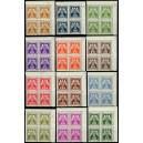 PČM SL13-SL24 (série 4bloků PH) - Služební známky