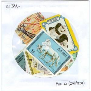 Sada známek - Fauna