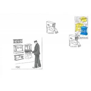 0945 FDC - 200 let poštovní schránky