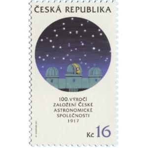 0951 - Česká astronomická společnost – 100 let