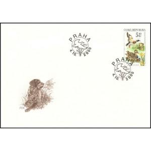 0271-274 FDC (série) - Myslivost v ročních obdobích