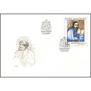 0275-277 FDC (série) - Umělecká díla na známkách