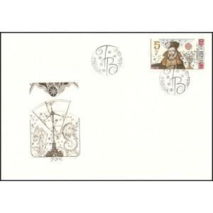 0125 FDC - Tycho Brahe