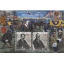 0955-956A (aršík) - Historie poštovnictví na našem území