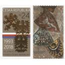 0957 KP - 25. výročí vzniku České republiky