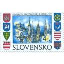 0140 - Bratislava a znaky krajských měst