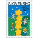 0208 (oz) - Děti stavějící Evropu z hvězd
