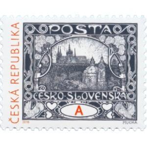 """0963 - A. Mucha: Hradčany """"A"""""""