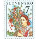 0287 - Lidové zvyky - Velikonoční známka