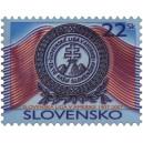 0396 - Znak Slovenské ligy v Americe