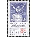 0133 - Tradice české známkové tvorby, Osvobozená Republika