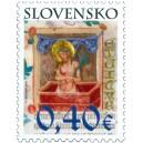 0470 - Iniciála s Bolestným Kristem z Bratislavského misálu