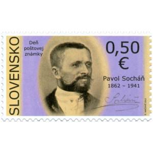 0530 - Den poštovní známky: Pavol Socháň
