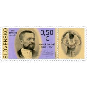 0530 KP - Den poštovní známky: Pavol Socháň