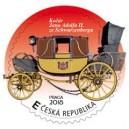 VZ 0652-656 - Kočáry ze sbírek Poštovního muzea