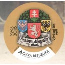 VZ 0583-587 - Historické poštovní štíty