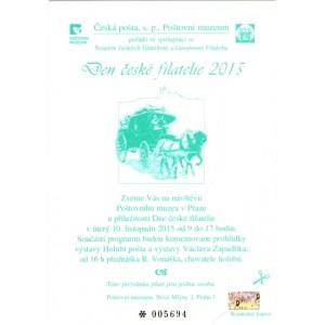 PPM17 - Den české filatelie 2015