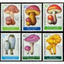 Mi BG 3546-3551 (série) - Jedlé houby