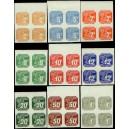 PČM NV10-NV18 (série 4bloků HO) - Novinové známky