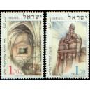Mi IL 1424-1425 (série) - Židovské památky v Praze