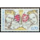 Mi LU 1861 - Jan Lucemburský a Eliška Přemyslovna