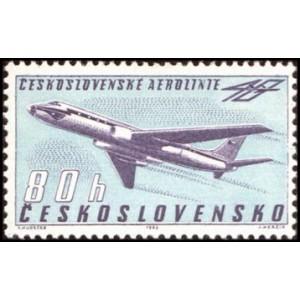 1313-1314 (série) - 40. výročí Československých aerolinií