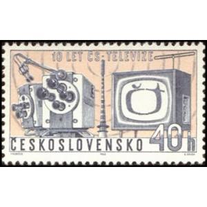 1309-1310 (série) - 10. výročí Československé televize