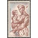 1110 - Rudoarmějec s děvčátkem