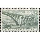 """0864 - Vlakový viadukt u Dolní Loučky (""""Most Míru"""" na jižní Moravě)"""