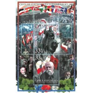 0998-999A (aršík) - Boj o českou státnost 1918
