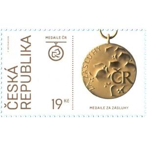 1001-1004 (série) - 100. výročí vzniku samostatného Československa: Řády a medaile