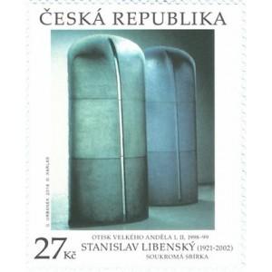 1010 - Umění: Stanislav Libenský: Otisk velkého anděla