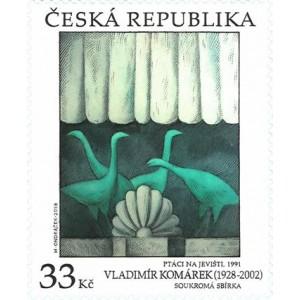 1011 - Umění: Vladimír Komárek: Ptáci na jevišti