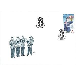 1015 FDC - Hradní stráž