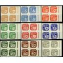PČM NV1-NV9 (série 4bloků PO) - Novinové známky