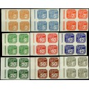 PČM NV1-NV9 (série 4bloků LO) - Novinové známky