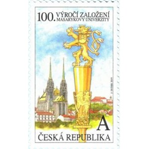 1018 - 100. výročí založení Masarykovy univerzity