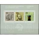 Mi DE 1215-1217A (block 19) - Kongres Světové poštovní unie (UPU)